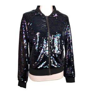 Victorias Secret 2014 Fashion Show Sequin Bomber